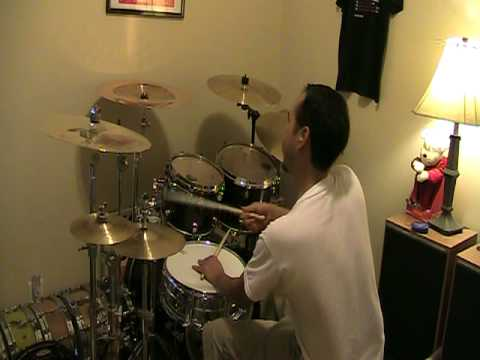 Walking On The Moon-The Police(drum cover)