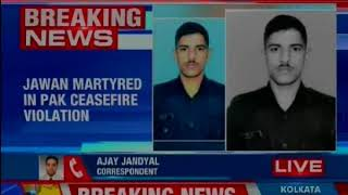 J&K: One Jawan martyred in yet another ceasefire violation by Pakistan in Mendhar sector of Poonch - NEWSXLIVE