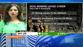 Market Pulse: Goa Mining Lease Renewal Boost - BLOOMBERGUTV