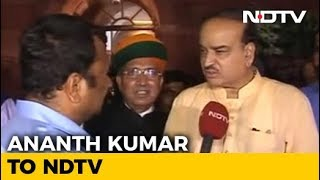 """Shiv Sena Is With Us"": Ananth Kumar To NDTV After No-Trust Vote - NDTV"