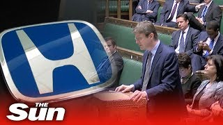Parliament reacts to Honda Swindon factory closure - THESUNNEWSPAPER