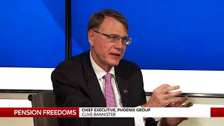 Talking pensions freedoms with CEO of Phoenix Group - SKYNEWS