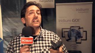 Turn your smartphone into a satellite phone with Iridium's GO! hotspot - PCWORLDVIDEOS