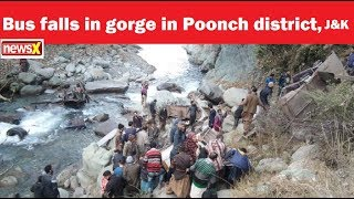 11 dead after bus falls in gorge in Poonch district, J&K - NEWSXLIVE