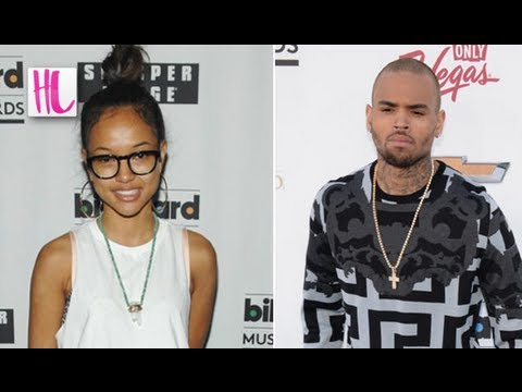 Chris Brown And Karrueche Tran Kiss At Billboard Awards 2013