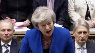 PMQs: Theresa May faces questions after Brexit deal defeat - THESUNNEWSPAPER