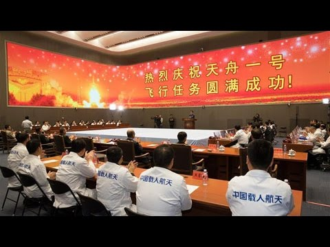 China completes key refueling test of Tiangong 2 space lab