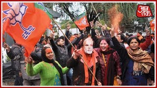 Gujarat Assembly Elections Results 2017 : BJP Retains Gujarat Again - AAJTAKTV