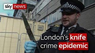 Solving the knife crime epidemic - SKYNEWS