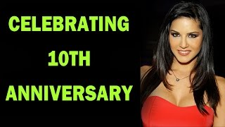 Sunny Leone and Daniel celebrate zoOm's 10th Anniversary - EXCLUSIVE!