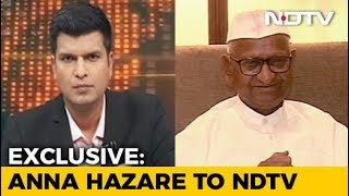 फिर अनशन करेंगे अण्णा हजारे, अनशन से पहले की NDTV से खास बातचीत - NDTV