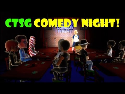 Comedy Night Gameplay! | CTSG Comedy Night In This Funny Xbox Indie Game | Lots Of Bad Jokes!