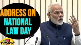 PM Modi Valedictory Address On National Law Day, 2017 | Mango News - MANGONEWS