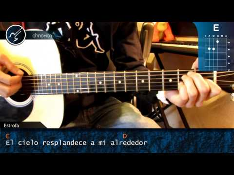 Como tocar Dragon Ball Z en Guitarra (HD) Tutorial Acordes