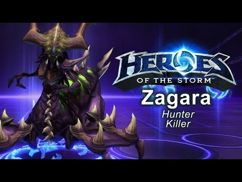Heroes of the Storm - 'Hunter Killer' Zagarra Build
