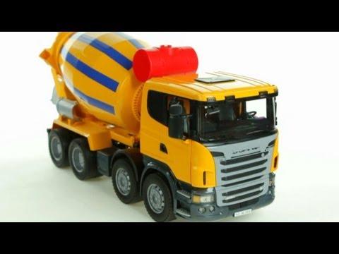 Scania R-Series Cement Mixer Muffin Songs' Oyuncakları Tanıyalım