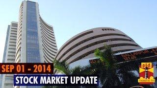 01-09-2014 Stock Market Update – 01 September , 2014