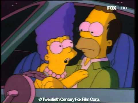 I Simpson 3x10 - Il primo bacio tra Homer e Marge