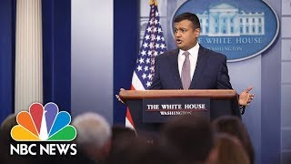 Watch Live: White House Press Briefing - February 22, 2018 - NBCNEWS