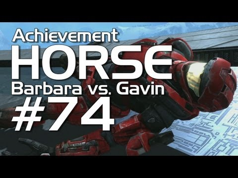 Halo: Reach - Achievement HORSE #74 (Gavin vs. Barbara)