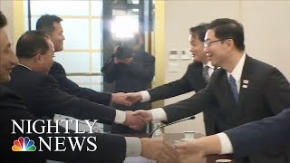 North And South Korea Will Form Joint Team For Winter Olympics | NBC Nightly News - NBCNEWS
