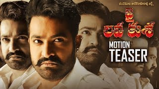 Jai Lava Kusa Movie Latest Motion Teaser | Jr NTR | Nivetha Thomas | Raashi Khanna | TFPC - TFPC
