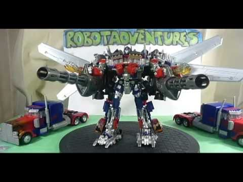DOTM Jetwing Optimus Prime Part 4