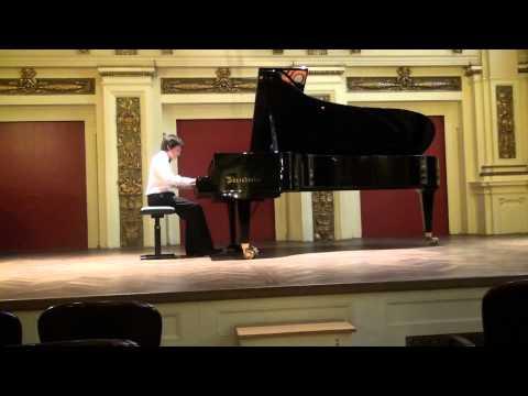 Aleksandar Bozovic at 4th International Rosario Marciano Piano Competition