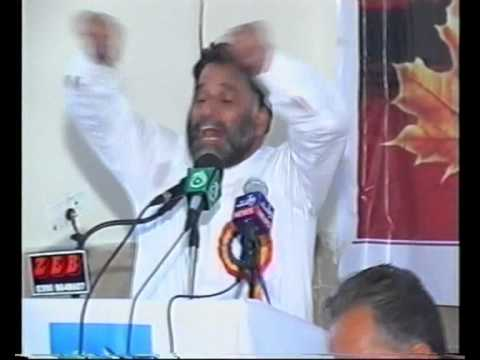 Press For Peace-Sardar Saghir (JKLF) Addressing in Kashmir Peace Conference-Kotli AJK