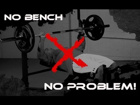 "Build a Bigger Chest with the ""BENCHLESS"" Bench Press!"