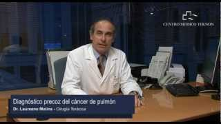 Detección precoz del cáncer de pulmón