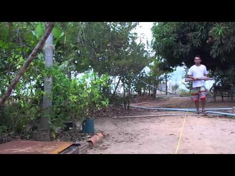 cometa fenix vs chumbinho 5,5mm a 10m balançando