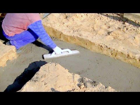 Budowa domu krok po kroku Dzień 1 - Podkład betonowy pod fundament. Kurs DVD link pod filmem