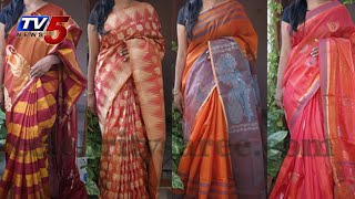 Gadwal Light weight Saree :  TV5 News - TV5NEWSCHANNEL