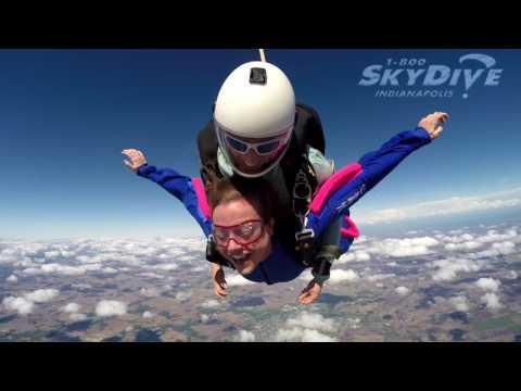 Brittany Smogoleski's Tandem skydive!