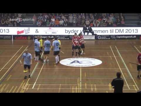 Floorball DM Finals Men HD 2013 Rødovre Vs Brønderslev