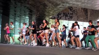 PSY GANGNAM STYLE flash mob in Barcelona SPAIN. FINAL!!