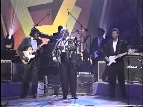 B.B. King, Jeff Beck, Eric Clapton, Albert Collins & Buddy Guy - Apollo Theater 1993 Part 2