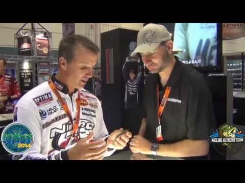 ICAST 2014 Edwin Evers talks about the Megabass Mag Draft