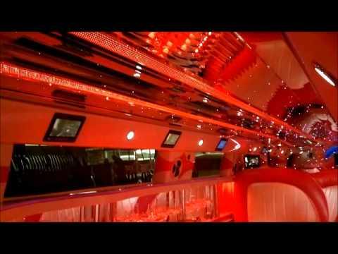 pink hummer h3 limousine 8 passenger limousine