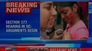 Section 377 hearing in SC: Court begins submissions for intervenors - NEWSXLIVE