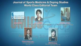 [Sports Medicine & Doping Studies Journals|OMICS Publishing Group]