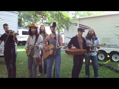 The Giving Tree Band-Live on KAOS for Old Settlers 2013 02