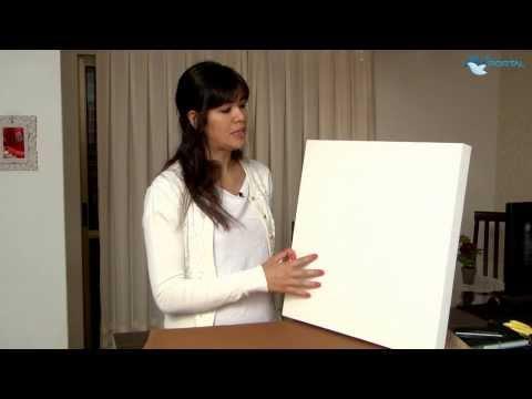 Simplesmente Amigas   Dica de Decoração: quadros com tecido