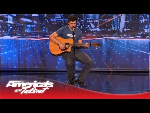 Tommy Mitchell Sings an Original Song for His Dad - America's Got Talent