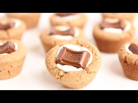 S'Mores Cookie Cups Recipe - Laura Vitale - Laura in the Kitchen Episode 801 - حواء توداي