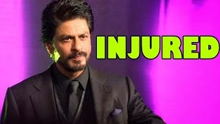 Shahrukh Khan suffered a Knee injury! | Bollywood News