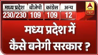 Madhya Pradesh Election: Congress leads in 109 seats, BJP in 108 | #ABPResults - ABPNEWSTV