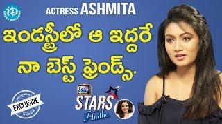 Actress Ashmita Exclusive Interview || Soap Stars With Anita - IDREAMMOVIES