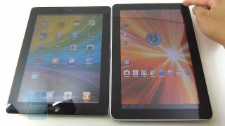 Ipad 2 ile Samsung Tab karşılaştırması